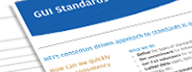 Read HFI's detailed consulting sheet on GUI standards